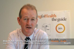 Brian Doolan, CEO Fred Hollows, Housing for Health